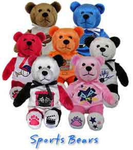 Beary Thoughtful Fundraising Sports Bears